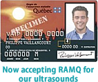 IRM Sud Ouest now accepts RAMQ insurance for Ultrasound